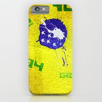 iPhone & iPod Case featuring Brazil World Cup by David Curry