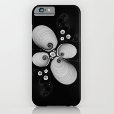 Black and White Fractal 6 iPhone 6 Slim Case