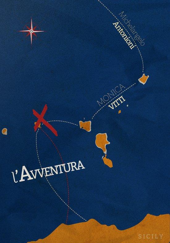 L'avventura, Alternative Movie Poster Art Print
