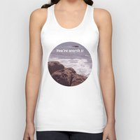 You're Worth It Unisex Tank Top