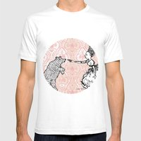 Espiègle / Mischievious Mens Fitted Tee White SMALL