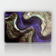 Blue Clam with Nudibranch Laptop & iPad Skin
