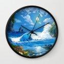 Sea Landspace Wall Clock