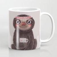 Sloth I♥lazy Mug