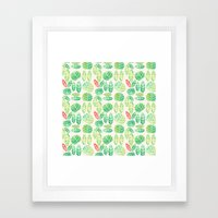 Minimalist Spring Framed Art Print