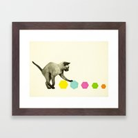 Kitty Cat Framed Art Print