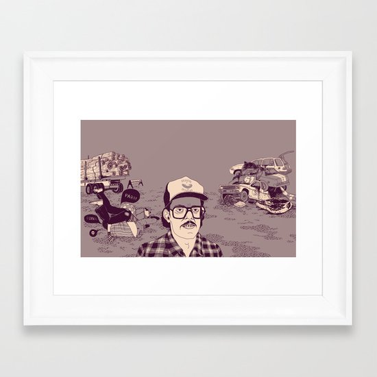 Vish Framed Art Print