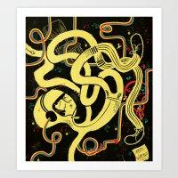 Zero Gravity Art Print