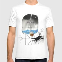 The Trouble With Flight Mens Fitted Tee White SMALL
