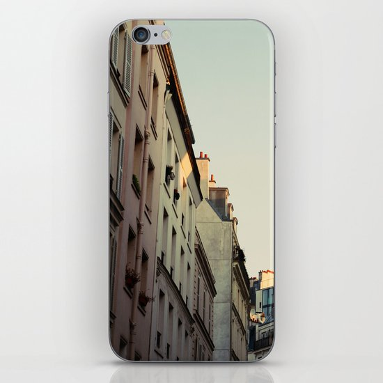 Pastel Paris iPhone & iPod Skin