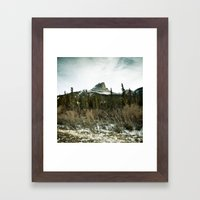 Pocahontas mountain Framed Art Print