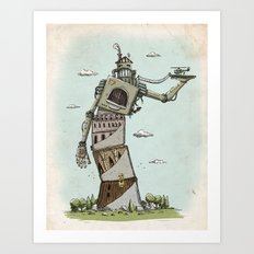 Crooked Art Print