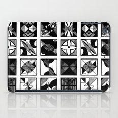 lines and curves iPad Case
