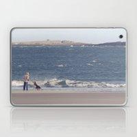 fishing with dogs... Laptop & iPad Skin