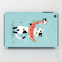 Watermelon Cat iPad Case