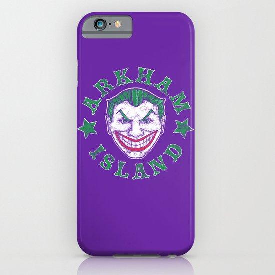 Arkham Island iPhone & iPod Case