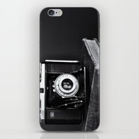 Old Camera, Old Books iPhone & iPod Skin