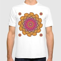 Sheep Ear Art - 3 Mens Fitted Tee White SMALL