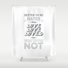 I Am Not A Robot ; Marina and the Diamonds (alternative II) Shower Curtain