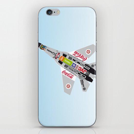 popwarIII iPhone & iPod Skin
