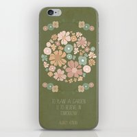 Plant a Garden iPhone & iPod Skin