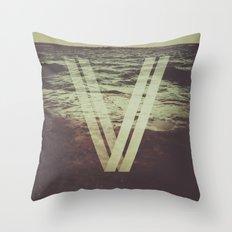 Undercurrent Throw Pillow