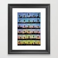 Superhero Kids Framed Art Print