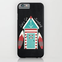 iPhone & iPod Case featuring Let's Go Surfing. by Digi Treats 2