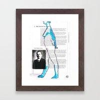 Carl Gustav Jung – Nud… Framed Art Print
