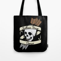 Follow Your Arrow Tote Bag