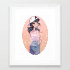 Bubble Bag Framed Art Print