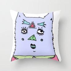 gato magico#4 Throw Pillow