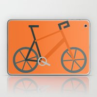 Orange Bike Laptop & iPad Skin