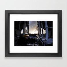 Train Hop Framed Art Print
