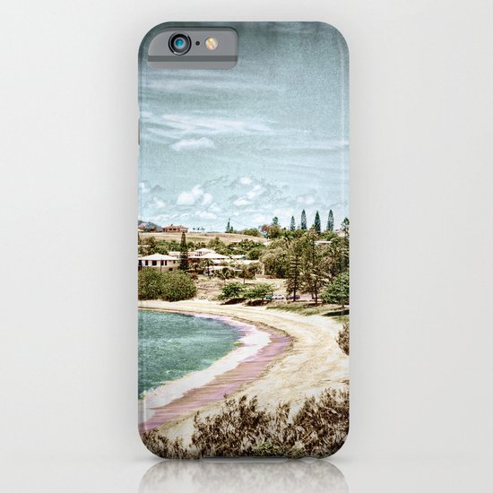 Living by the ocean iPhone & iPod Case