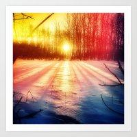 Take The Prismatic Path … Art Print