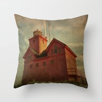 Light on the Lake Throw Pillow