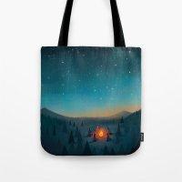 Campfire Tote Bag