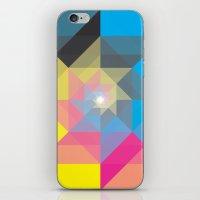 CMYK Triangles  iPhone & iPod Skin