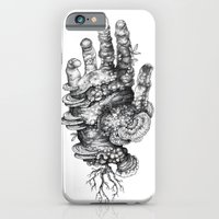 iPhone Cases featuring Dead Hand by Mister Beaudry
