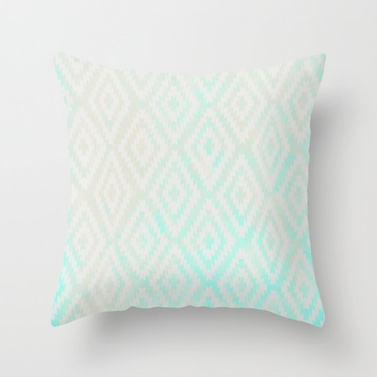 Summer Fade: Swimming Pool Throw Pillow
