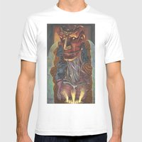 Ghost In The Shell Mens Fitted Tee White SMALL