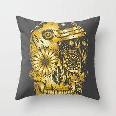 C3P GOLD Throw Pillow