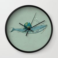 Save The Planet II Wall Clock
