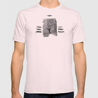 Gilgamesh & Vos Mens Fitted Tee Light Pink SMALL