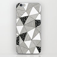 Pattern Triangles iPhone & iPod Skin