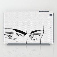 Doubt eyes iPad Case
