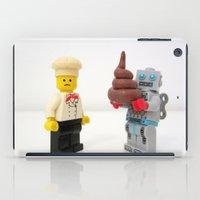 Lego cook & robot misunderstanding iPad Case