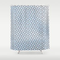 Lilypads & Paisleys Shower Curtain