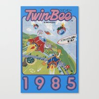 TwinBee Canvas Print